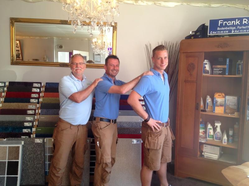 Das Team von Frank Rohde